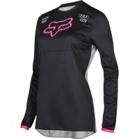 Мотоджерси женская Fox Switch Womens Jersey Black/Pink S (19465-285-S)