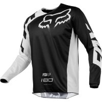Мотоджерси Fox 180 Race Jersey Black L (19426-001-L)