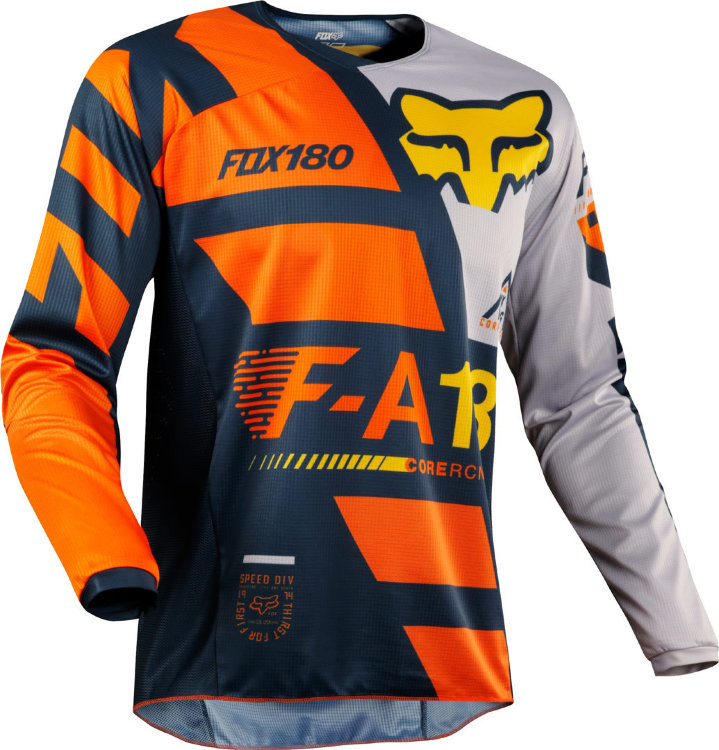 Мотоджерси Fox 180 Sayak Jersey Orange L (19428-009-L)