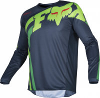 Мотоджерси FOX 180 Race Blue Green, M