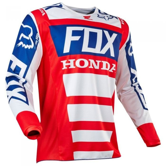 Мотоджерси Fox 180 Honda Jersey Red/White XL (17263-054-XL)