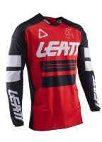 Мотоджерси Leatt GPX 4.5 X-Flow Jersey Red M (5020001311)