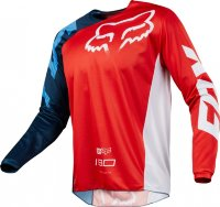 Мотоджерси Fox 180 Race Jersey Red S (19426-003-S)